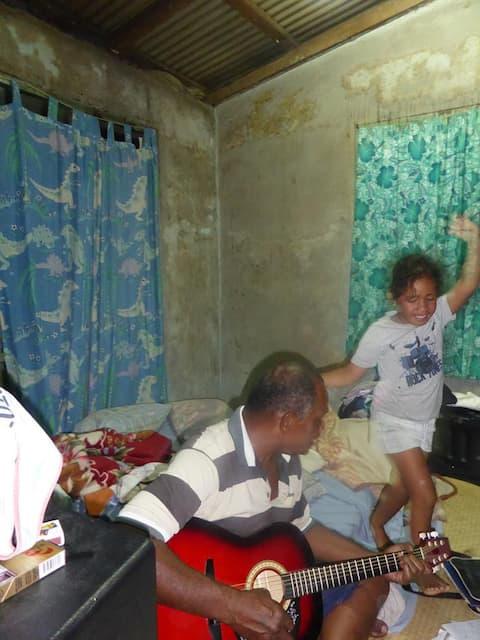 A traditional & historical Fijian village