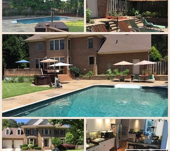 Family Oasis! - Fayetteville - Casa