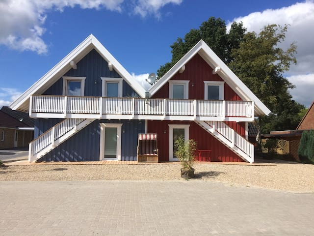Haus VINDÖ und Haus SKAGEN Appartment für 1-2 Pers - Papenburg - Appartement