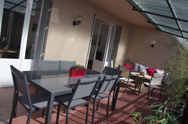 Superbe appart avec grande terrasse - Rodez - Appartement