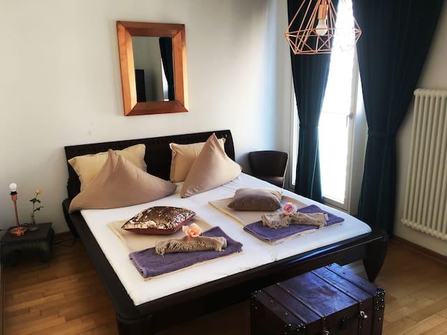 New/Huge 3 Bedroom Apt in Top center/sightseeing