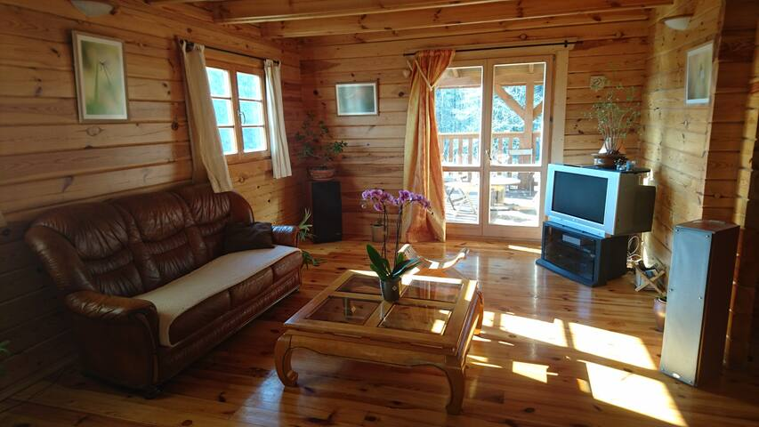 Maison bois dans le haut clunisois - Montagny-sur-Grosne - Chatka w górach