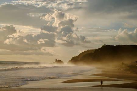 Cabaña con vista al mar en Playa Mermejita-Mazunte