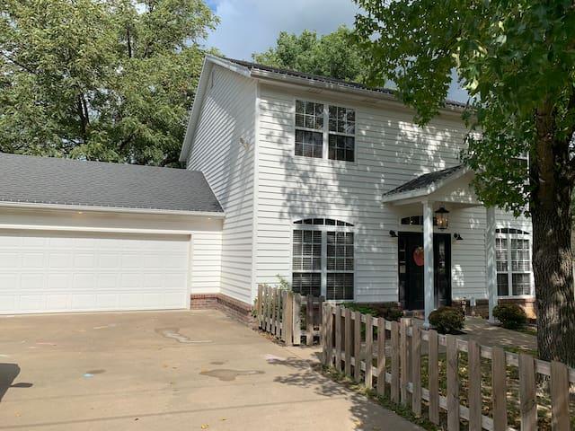Cozy 2-Story Bentonville Home