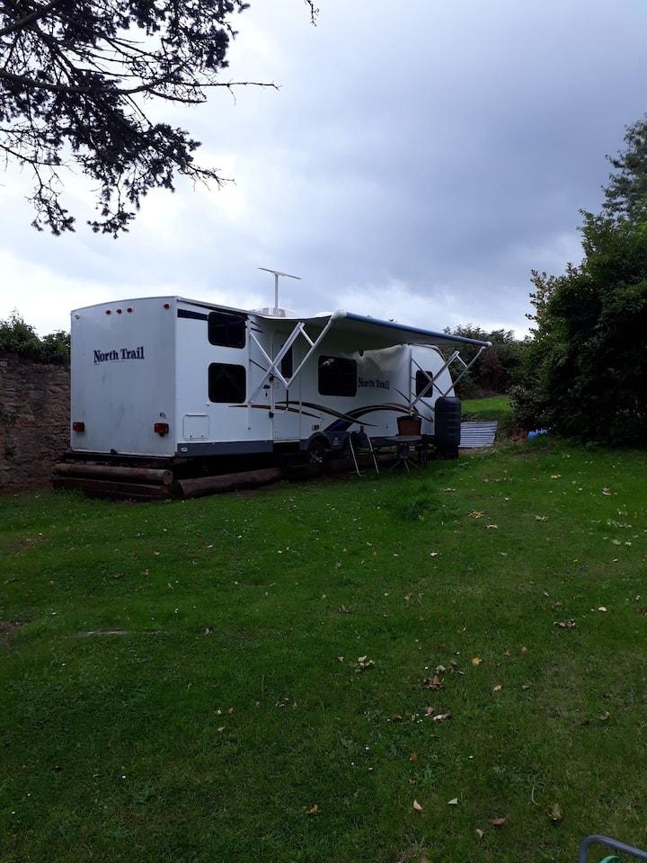 American Caravan 30ft long home from home