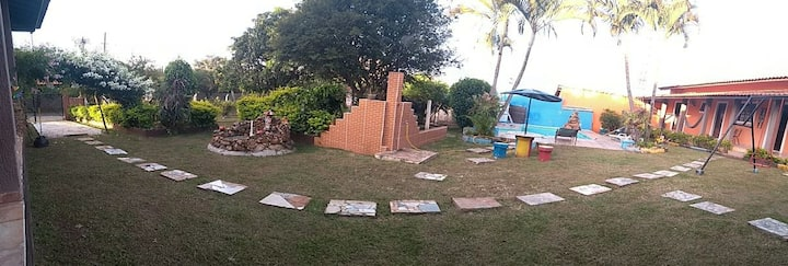 Casa Campo + piscina + churrasqueira