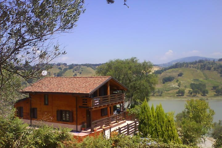 Villa/Chalet sul Lago Angitola