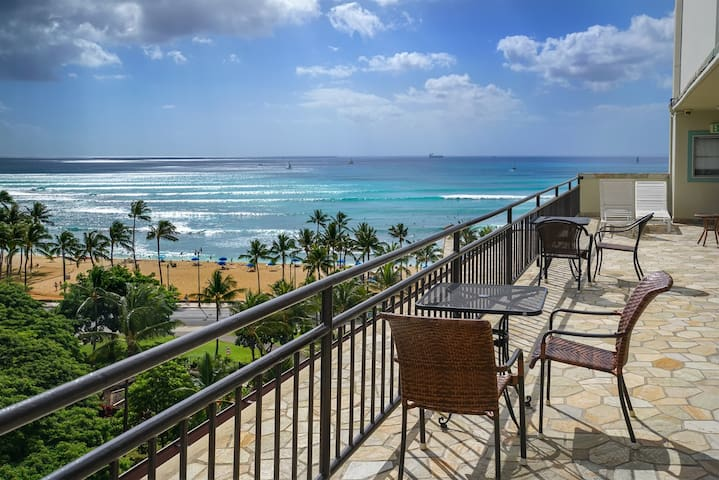 THE HAPPIEST SPACE - WAIKIKI GRAND  - Honolulu - Apartment