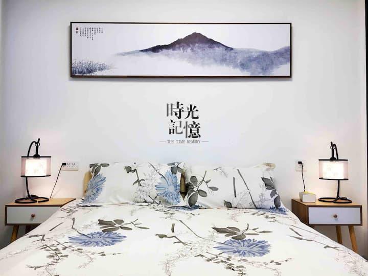 【  永兴轩流溋 】正宗西秦美食绝对不能错过的地方,永兴坊旁简约风格旅社大床 设施齐全。
