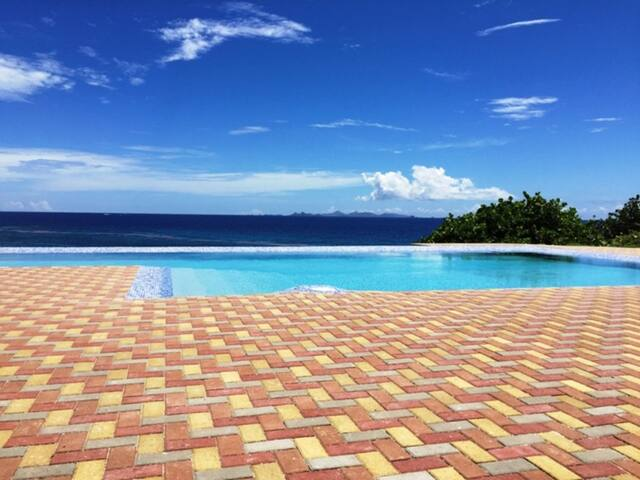 Ocean Front Condo-Unobstructed St Barts View