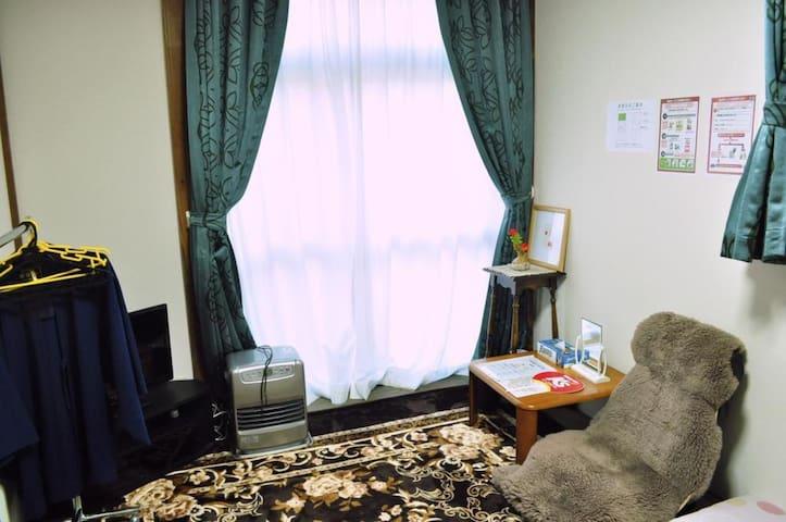 Guest house in Toyako Onsen area!【2 pax】