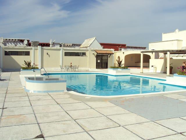 Apartment, with big swimmingpool