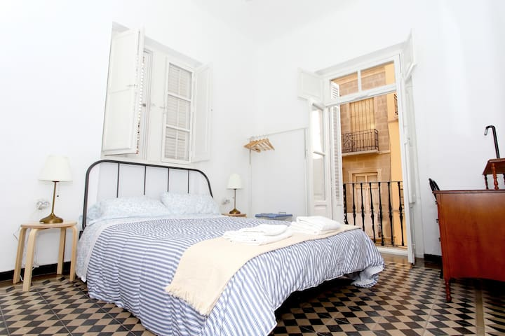 Beautiful rooms in the historical city centre