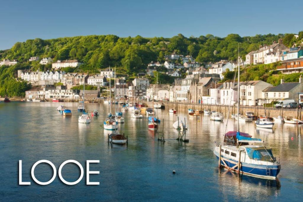 Looe's Stunning Harbour Is World Renowned.