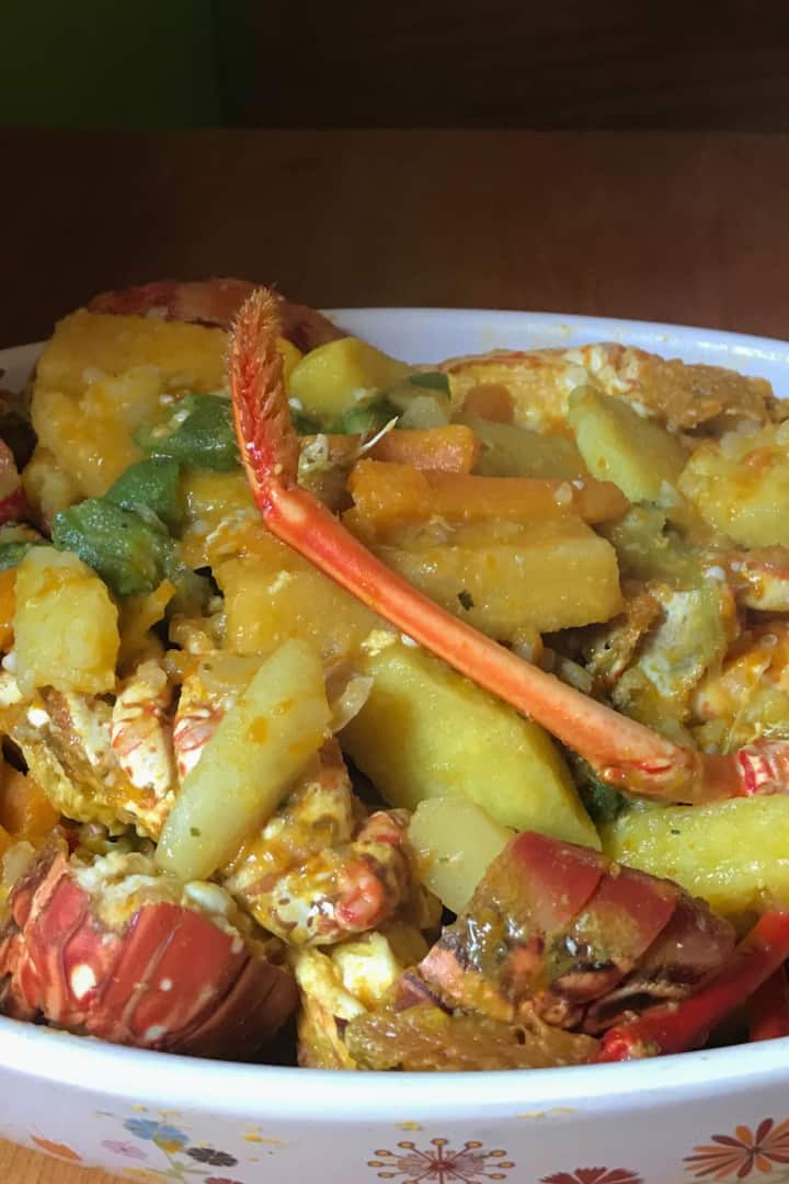 Curry Lobster