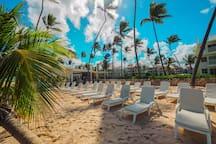 Beach area at Playa Turquesa Ocean Club