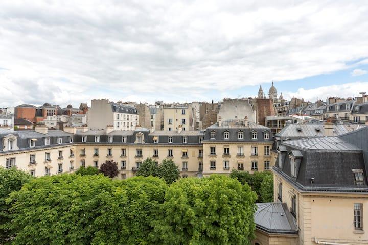 Beau studio Montmartre Pigalle !