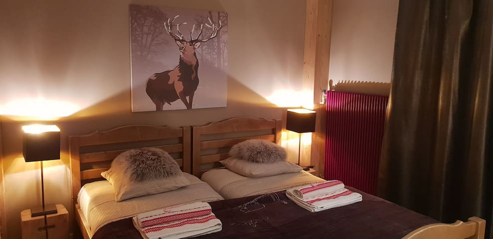 Private double room - Cosy & Douillet Atmosphere