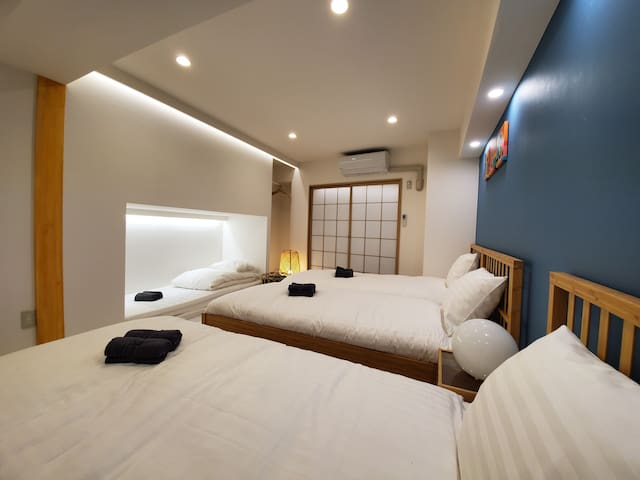 # 203★4 Beds Shinjuku, Kabukicho, Free pocket WiFi