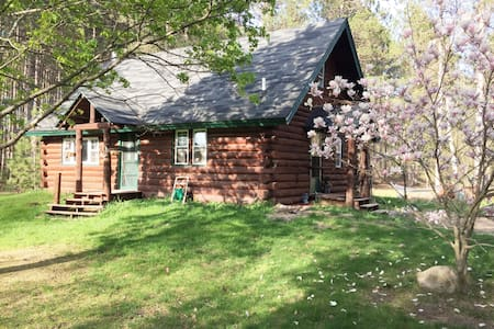Cabin in the woods close to TC/Sleeping Bear Dunes