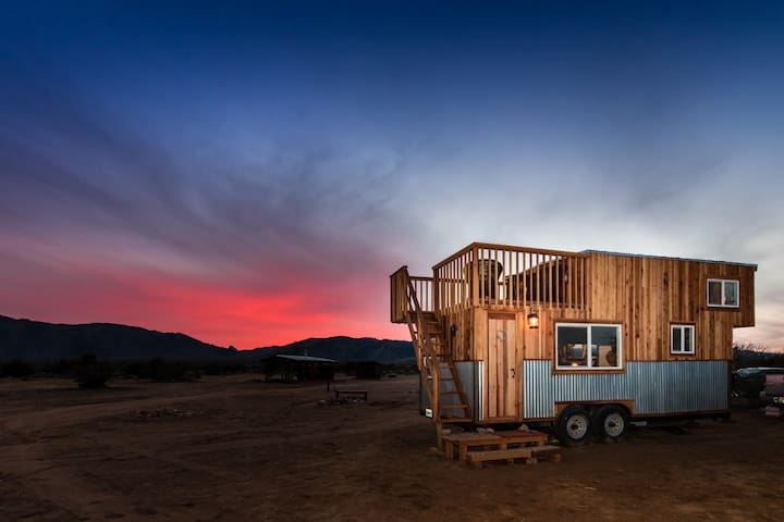 Tiny House near Death Valley / The Peacock