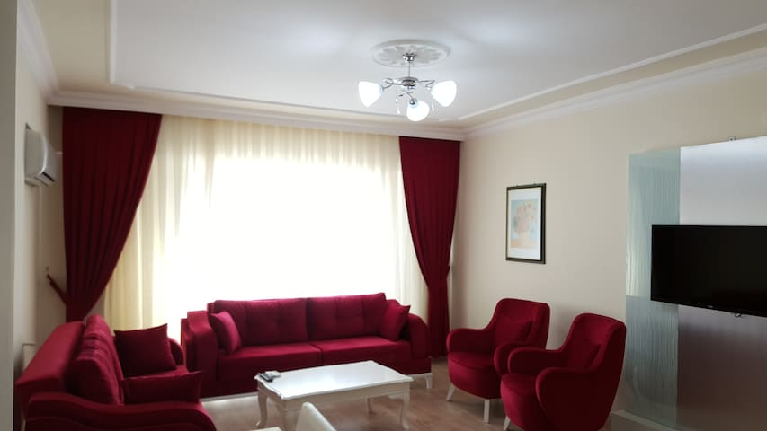 Апартаменты 3+1 для отдыха в Elit Park Residence - Konyaaltı