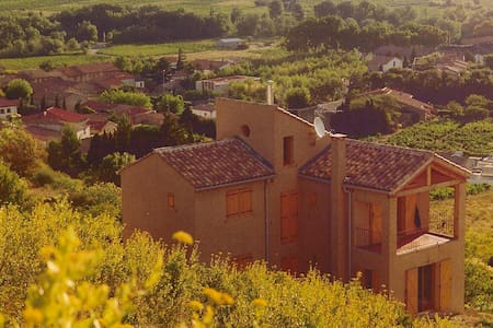 Wonderful house, stunning views in the Corbieres. - Paziols
