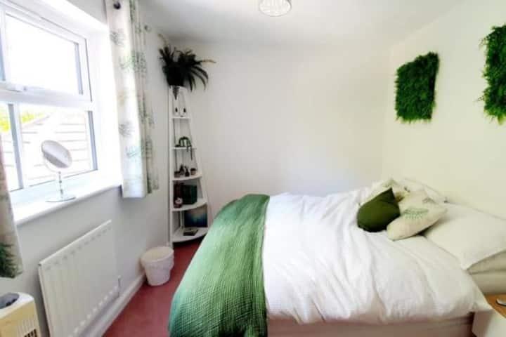 1 King size room in a quiet cul de sac classy area