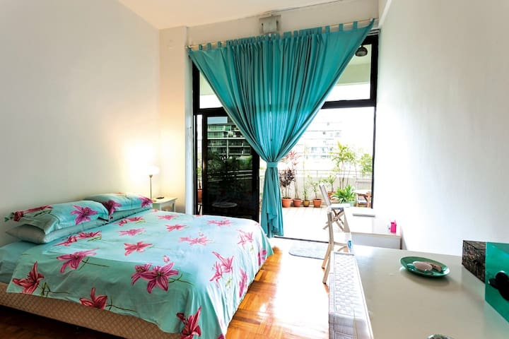 3/B, Center Singapore, MRT, 1690 sqft,high,bright - Singapur - Apartamento