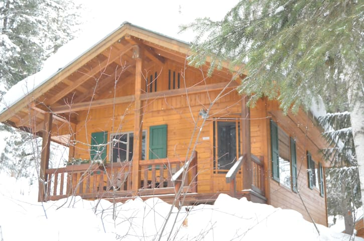 Porcupine Chalet - Your Hillside GetAway