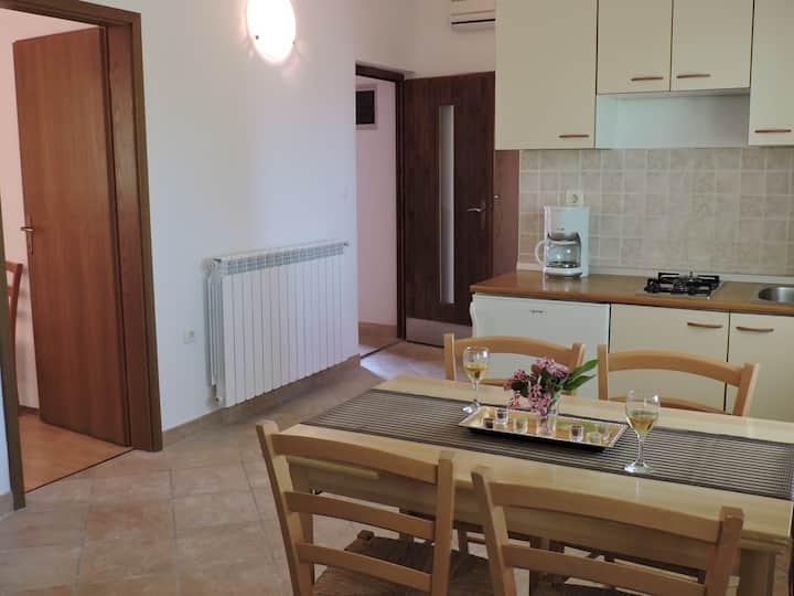 Apartments Percan Krnica / Two bedrooms Ulika Novi A2