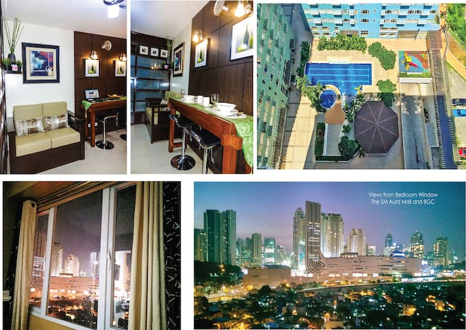 W/ PARKING, 1BR Semi Japanese @ Ridgewood near BGC