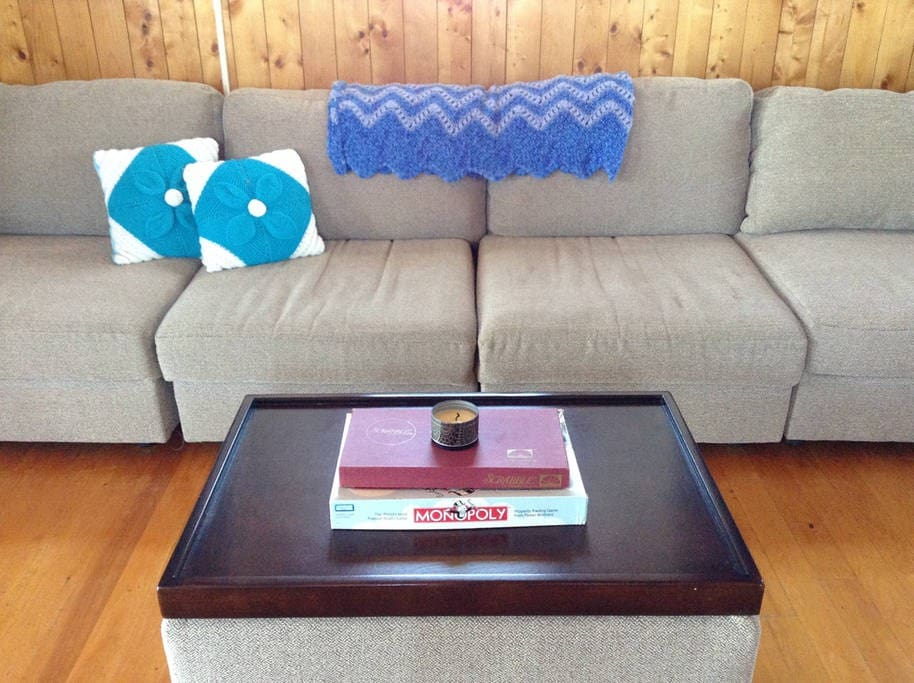 Large couch to entertain