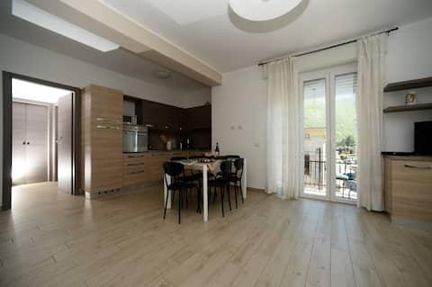 Apartment Belvedere, Dervio near the Lake.