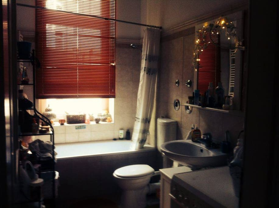 The little pretty bathroom