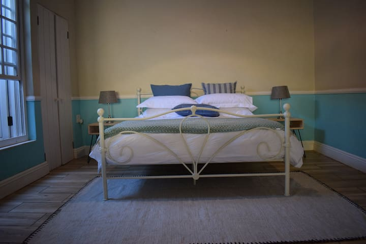 get a good night rest after a long day on this Sealy queen bed