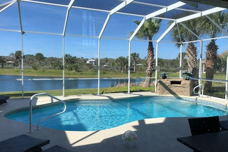 Beautiful Beach Home with Heated Saltwater Pool