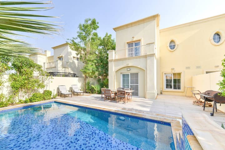 Beautiful 3/4 Bed Villa with Private Pool & BBQ -P