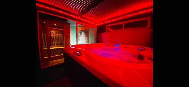 Villa Bien-Étre privatisée Jacuzzi,piscine & sauna