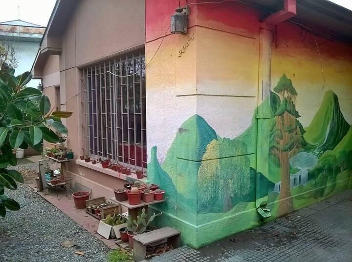 Habitación privada Ñuñoa , casa compartida jóvenes
