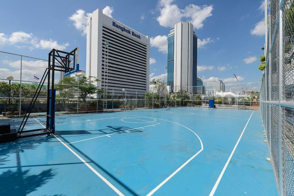 Full-Sized Basketball courts