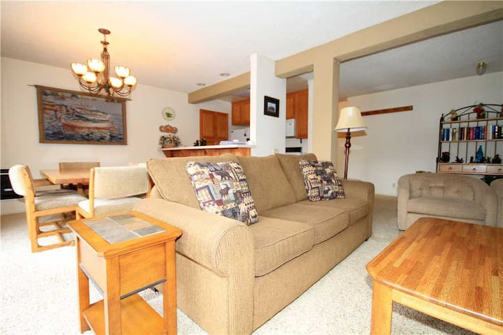 Mammoth Ski and Racquet #1, 2 Bedroom 2 Full bathrooms, Fully Furnished Condo, with Views!