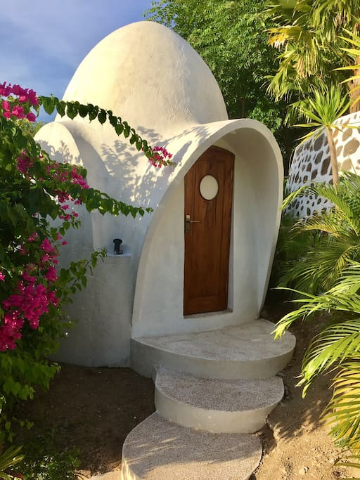Private entrance to the DreamDome