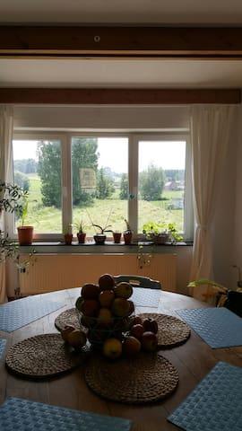 au pays des collines - Frasnes-lez-Anvaing - Apartament