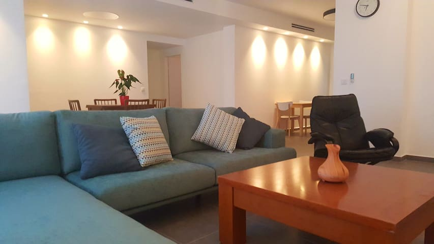 Big apartment with good atmosphere