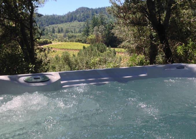 Luxury Private Casita With Hot Tub - Calistoga