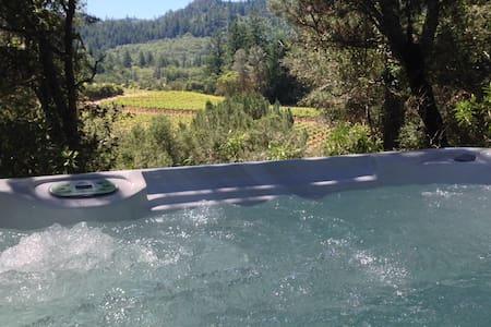 Luxury Private Casita With Hot Tub - Calistoga - บ้าน