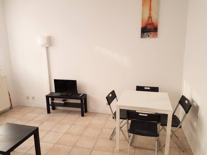 Appartement Spacieux T2 Proche Paris (Argenteuil)