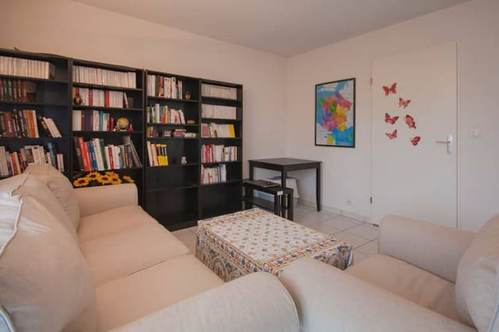 2 private rooms for family or friend group - Quimper - Apartment