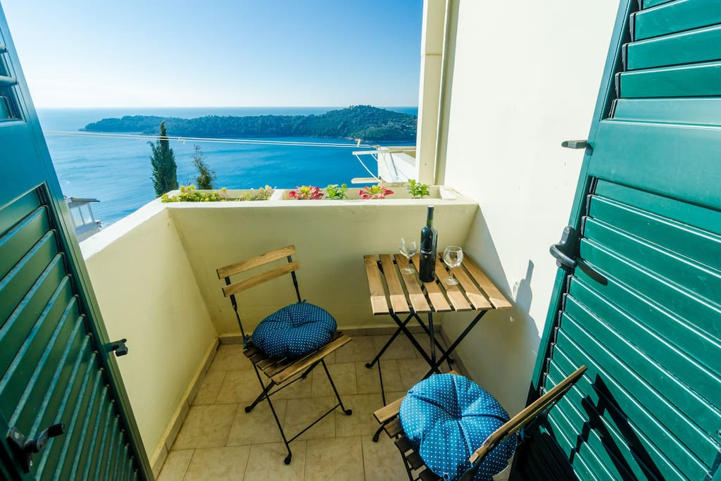 Balcony with Sea View; Sun City; Dubrovnik Old Town and Sea View